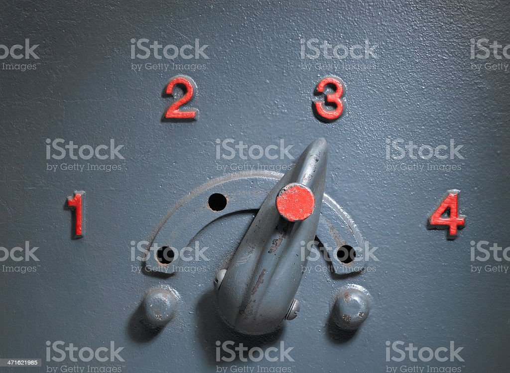 Vintage Control Panel royalty-free stock photo