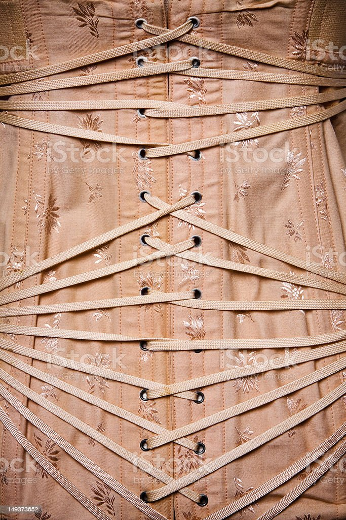 Vintage Corset stock photo