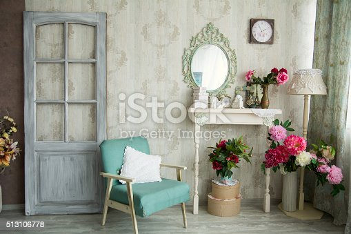 istock Vintage country house interior 513106778