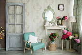 Vintage country house interior