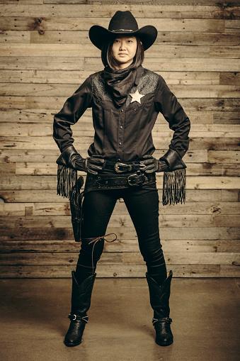 Vintage Cowboy Sheriff