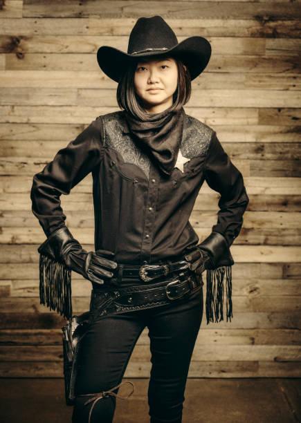vintage cowboy sheriff - schal mit sternen stock-fotos und bilder