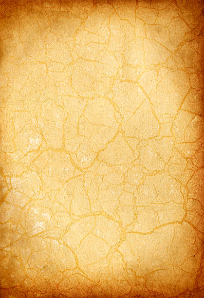 Vintage Crackle Paper stock photo