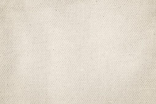 Vintage Cream abstract Hessian or sackcloth fabric or hemp sack texture background. Wallpaper of artistic wale linen canvas.