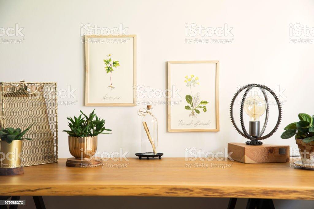 Photo de stock de vintage intérieur de bureau créatif À la maison