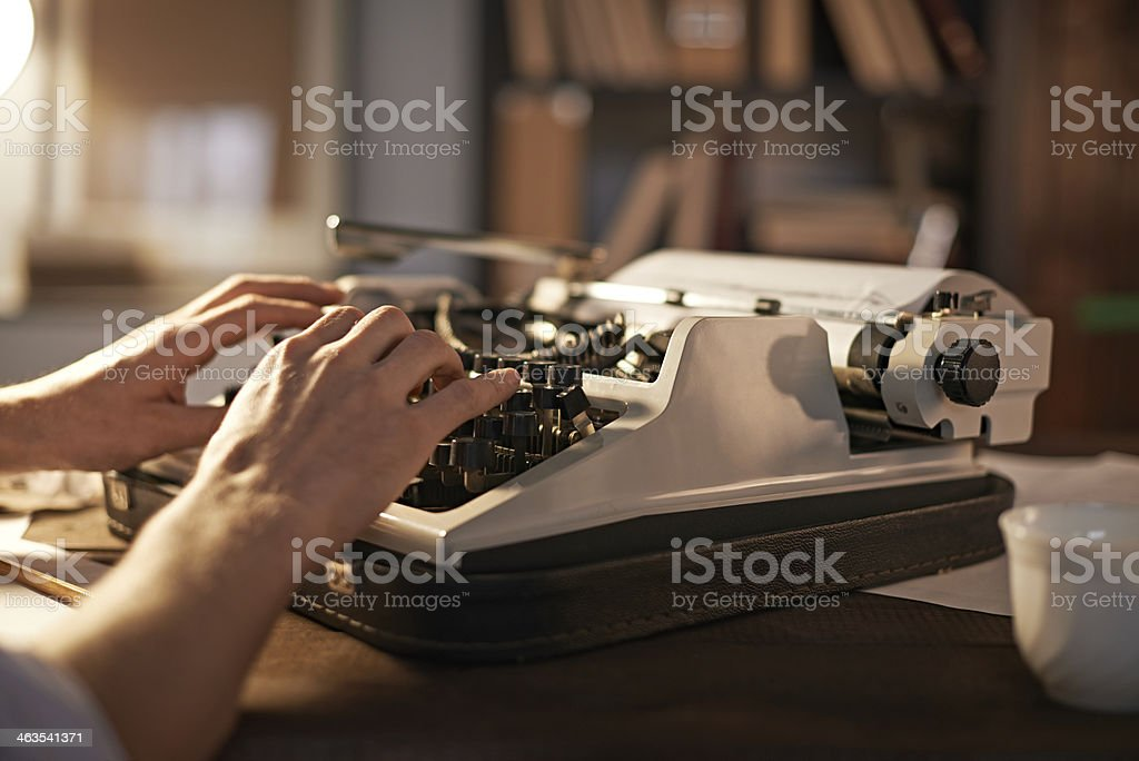 Vintage creativity stock photo