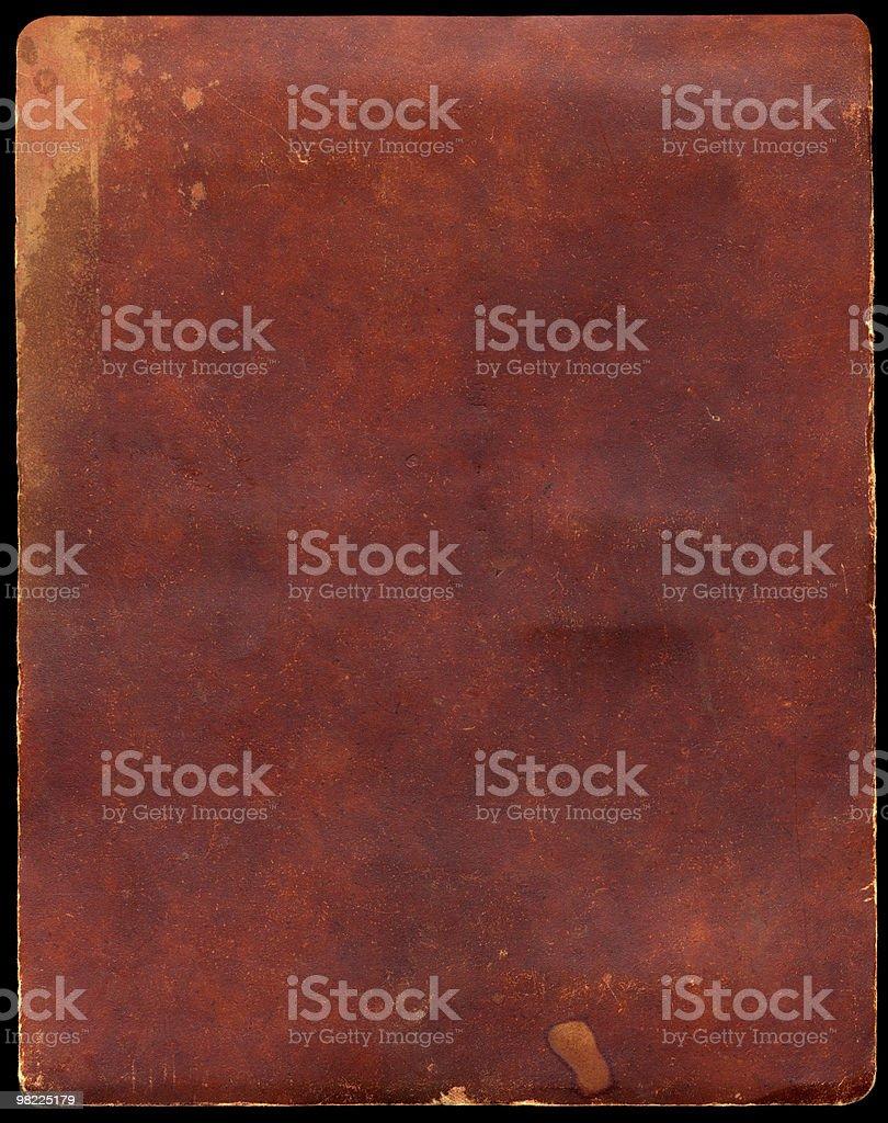 Vintage Dark Brown Paper XXL royalty-free stock photo