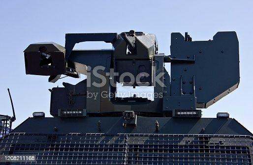 War vehicle Machine Gun under the Sun