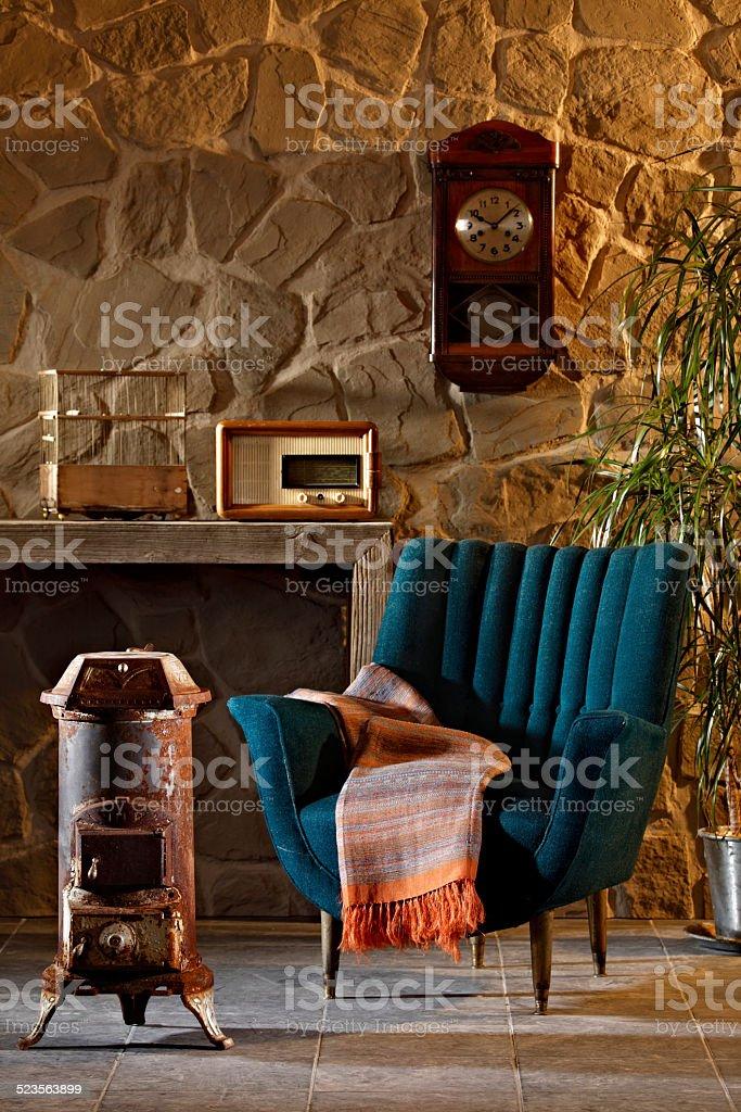 vintage decoration stock photo