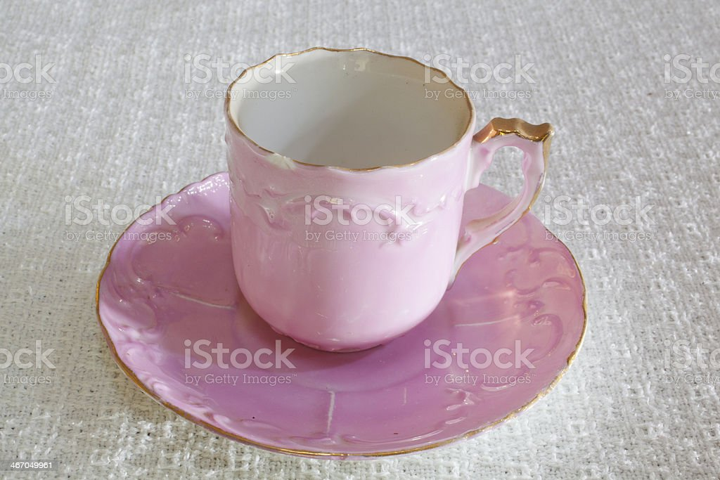 Vintage Demitasse royalty-free stock photo