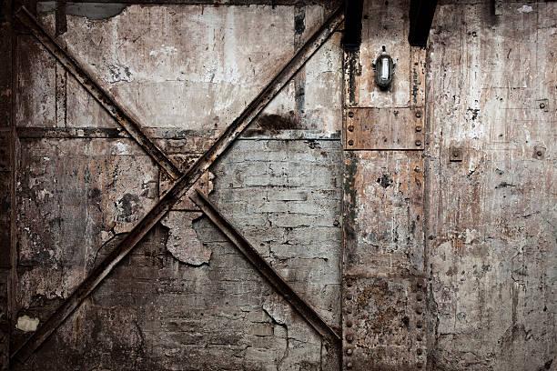 vintage zerstörten wand hintergrund - peeling herstellen stock-fotos und bilder