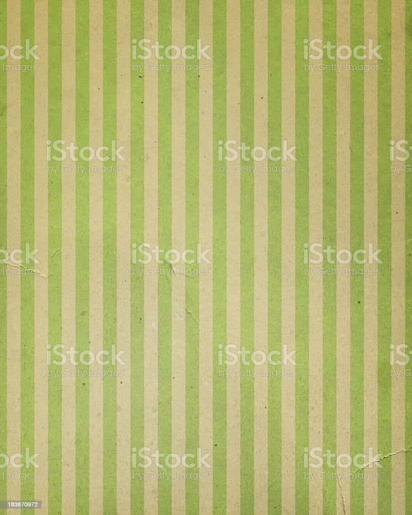 vintage distressed striped paper stock photo