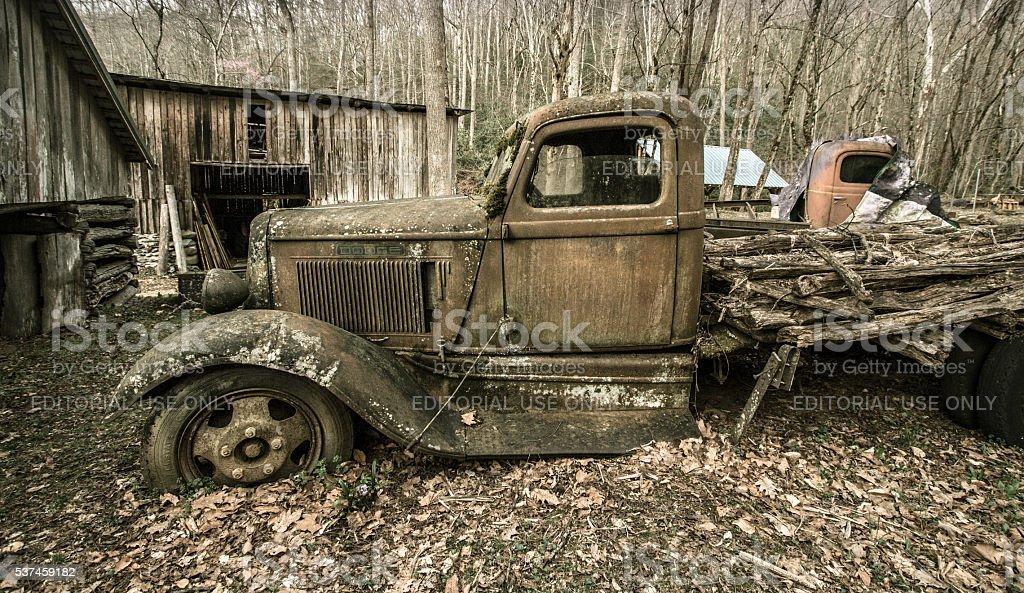 Vintage Dodge Pick Up Truck stock photo