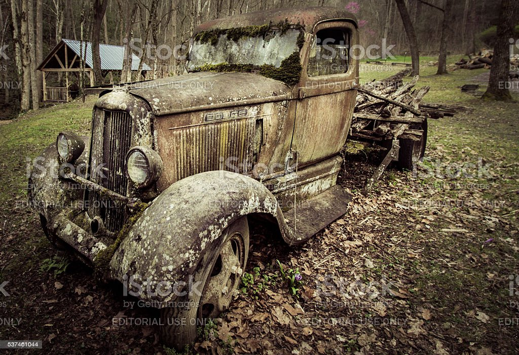Vintage Dodge Pick Up Truck stock photo