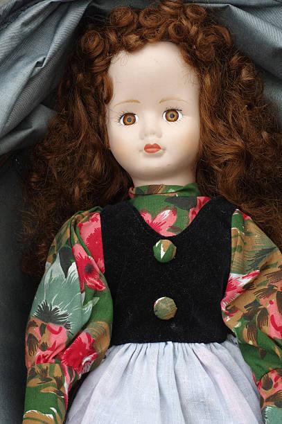 vintage doll - muñeca bisque fotografías e imágenes de stock