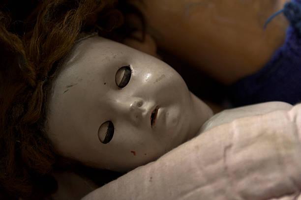 Vintage muñeca dormitorio - foto de stock
