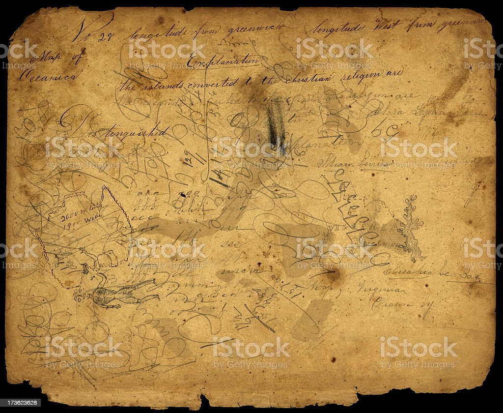 vintage doodles royalty-free stock photo