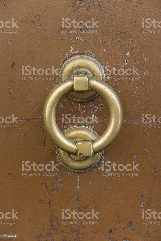 Vintage Door Knocker royalty-free stock photo