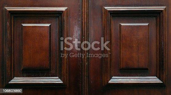 Vintage door old background