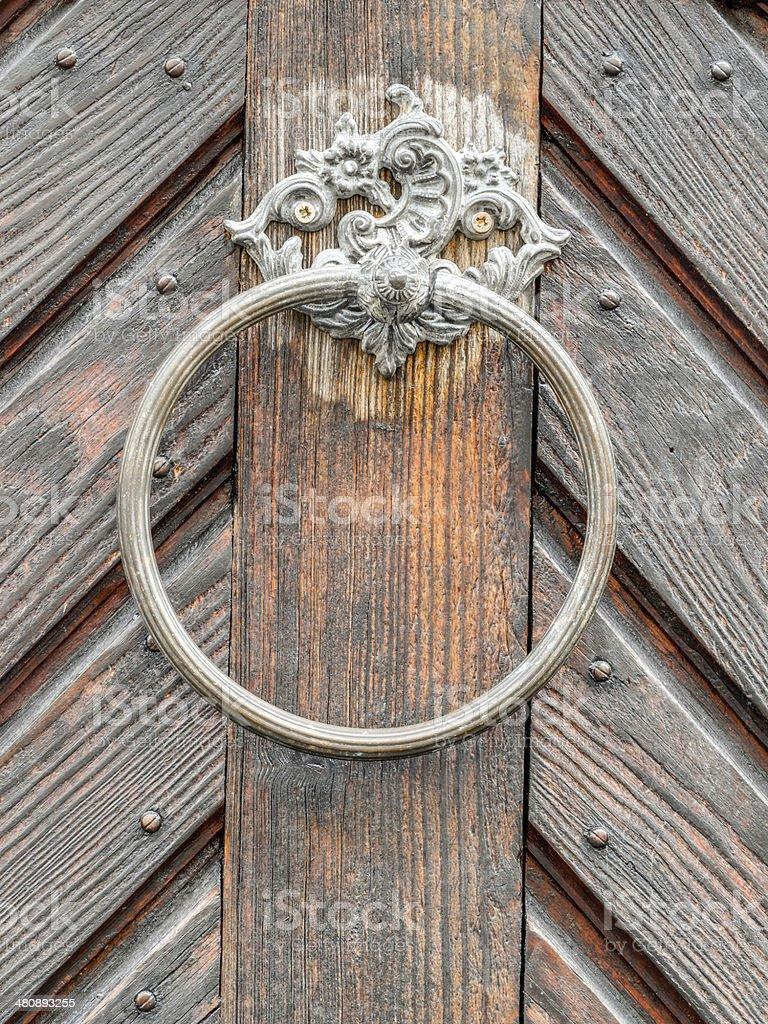 Picture of: Vintage Doorknob On Antique Door Background Stock Photo Download Image Now Istock