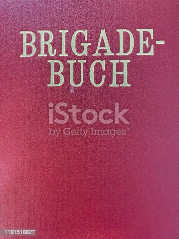 Vintage east germany, Brigade Diary title
