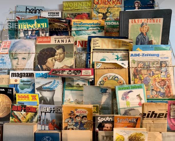 Vintage Ostdeutschland: Sammlung von Zeitschriften – Foto