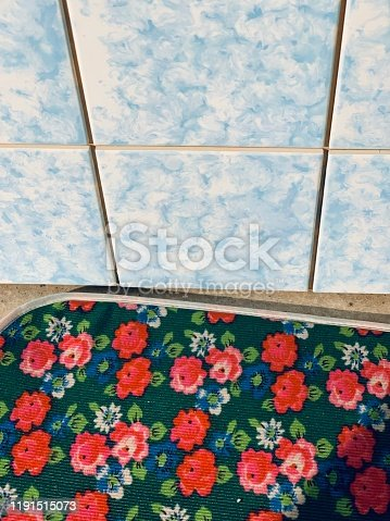 Vintage east germany, Tiles and floral coasters