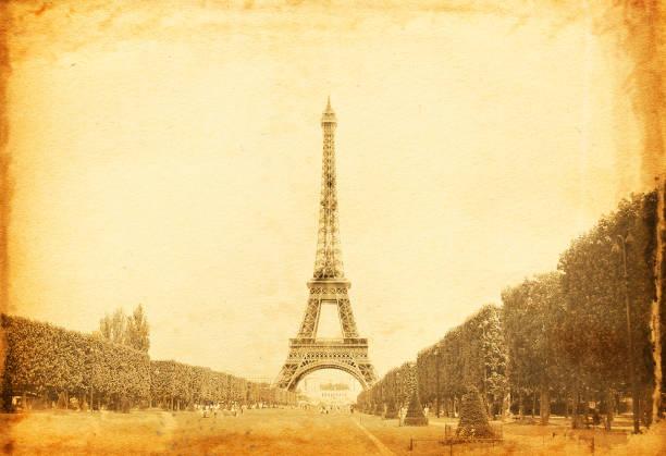 Vintage Eiffel Tower Photo stock photo