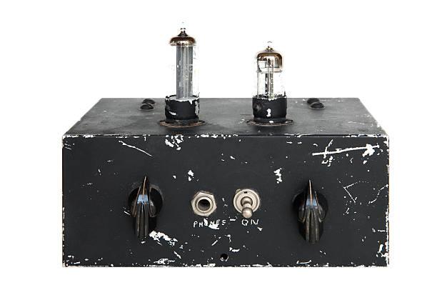 Vintage Electronics stock photo