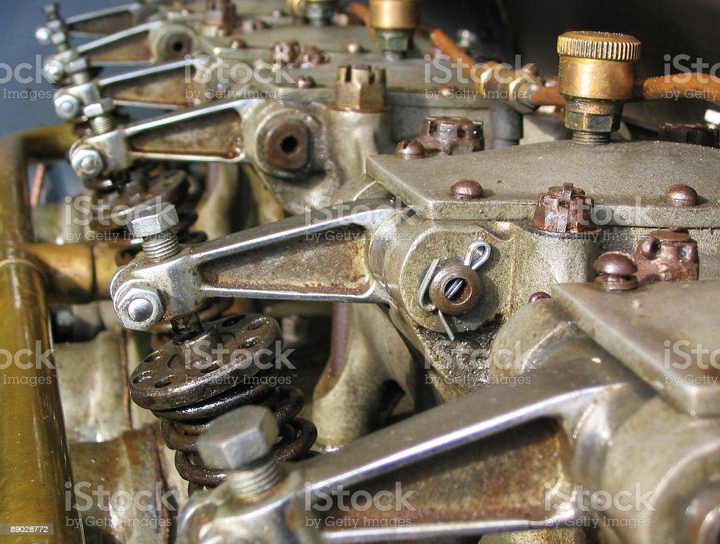 vintage engine royalty-free stock photo