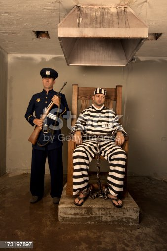 Vintage Execution With Electric Chair Stock Photo Amp More