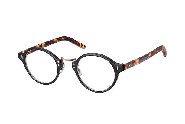 6982f9e7ddf Vintage Eyeglasses isolated with clipping path stock photo