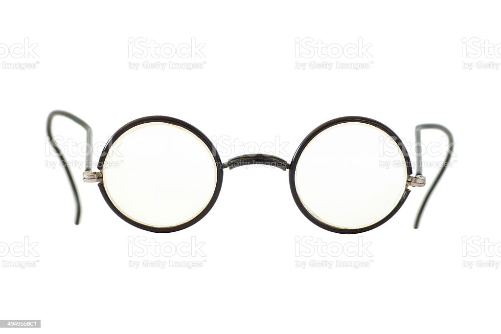Vintage eyeglasses stock photo
