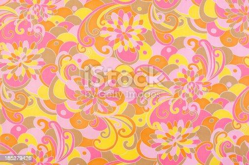 istock Vintage Fabric Background SB23 1962-1972 185279426