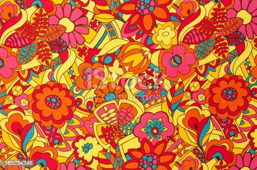 istock Vintage Fabric Background SB51 1962-1972 185234346