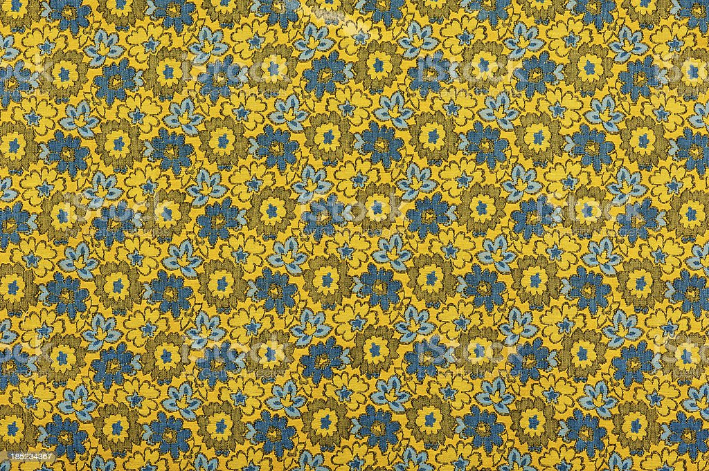 Vintage Fabric Background SB52 wide 1962-1972 royalty-free stock photo