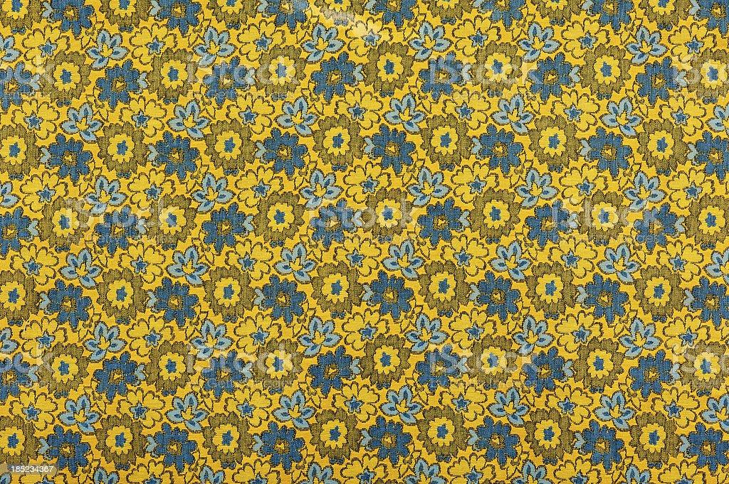 Vintage Fabric Background SB52 wide 1962-1972 stock photo