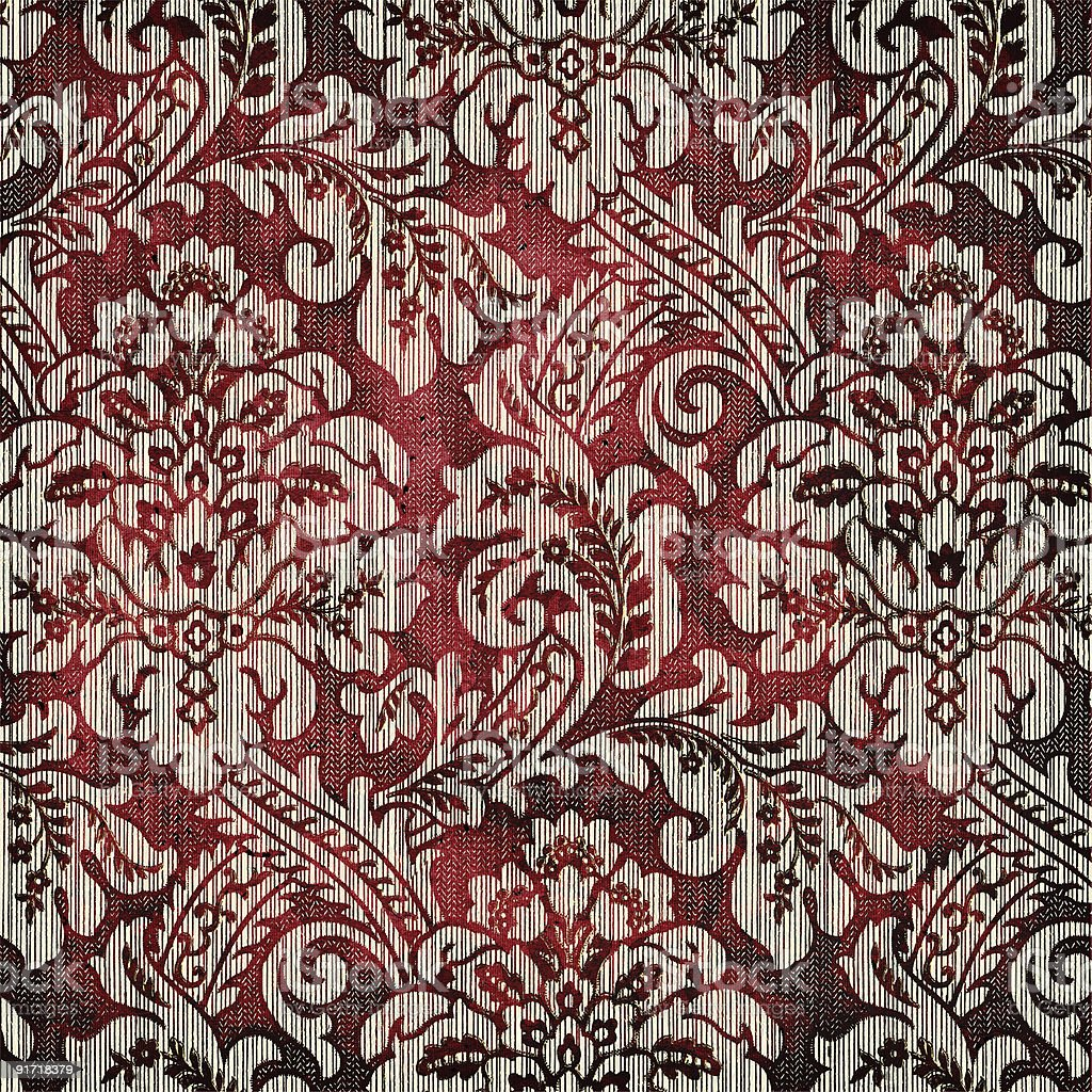 vintage fabrics royalty-free stock photo