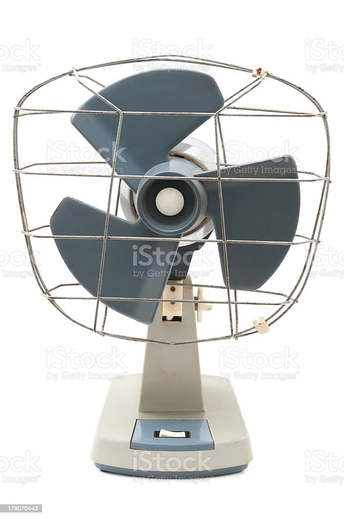 Vintage Fan royalty-free stock photo