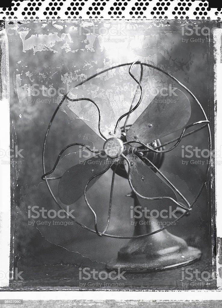 Vintage fan royalty-free stock photo
