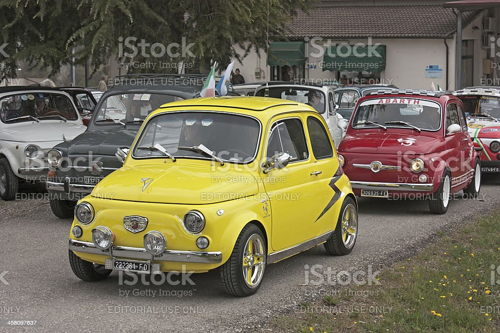 Vintage Fiat 500 Abarth Stock Photo Download Image Now Istock