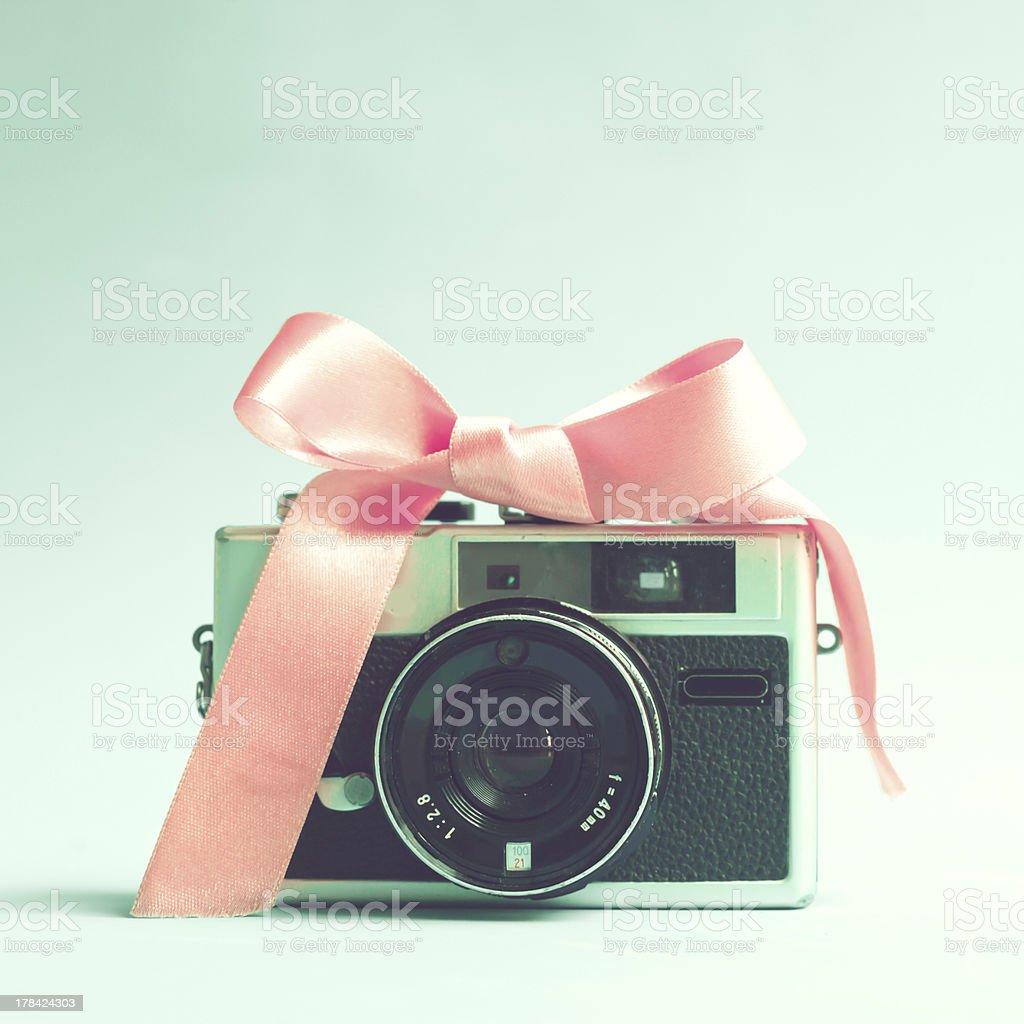 Vintage Film Camera royalty-free stock photo