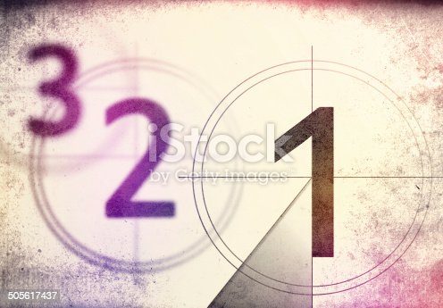istock vintage film countdown 3 2 1 505617437