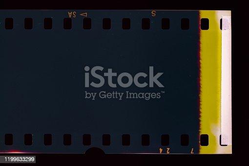1152194399 istock photo Vintage Film Light leak 1199633299