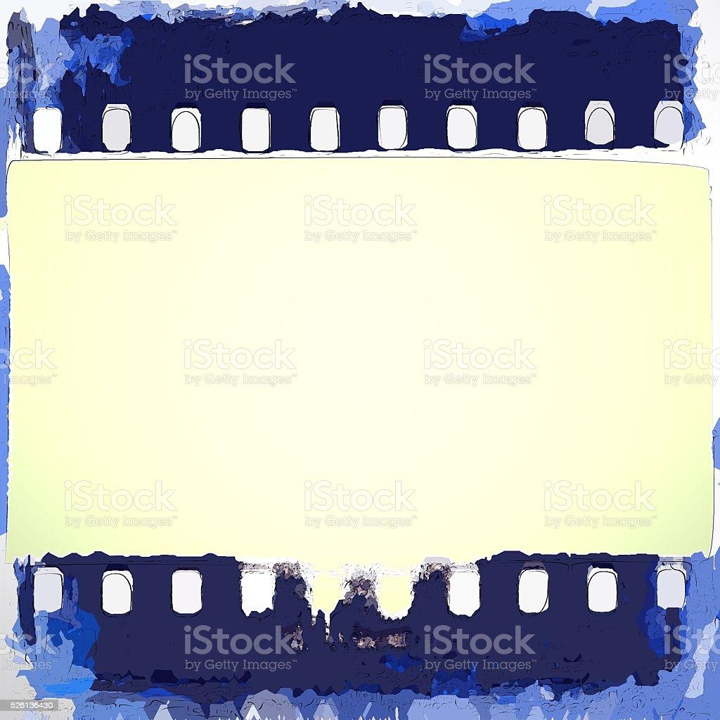 Jahrgang Filmstreifen Rahmen Im Comicstil Stock-Fotografie und mehr ...