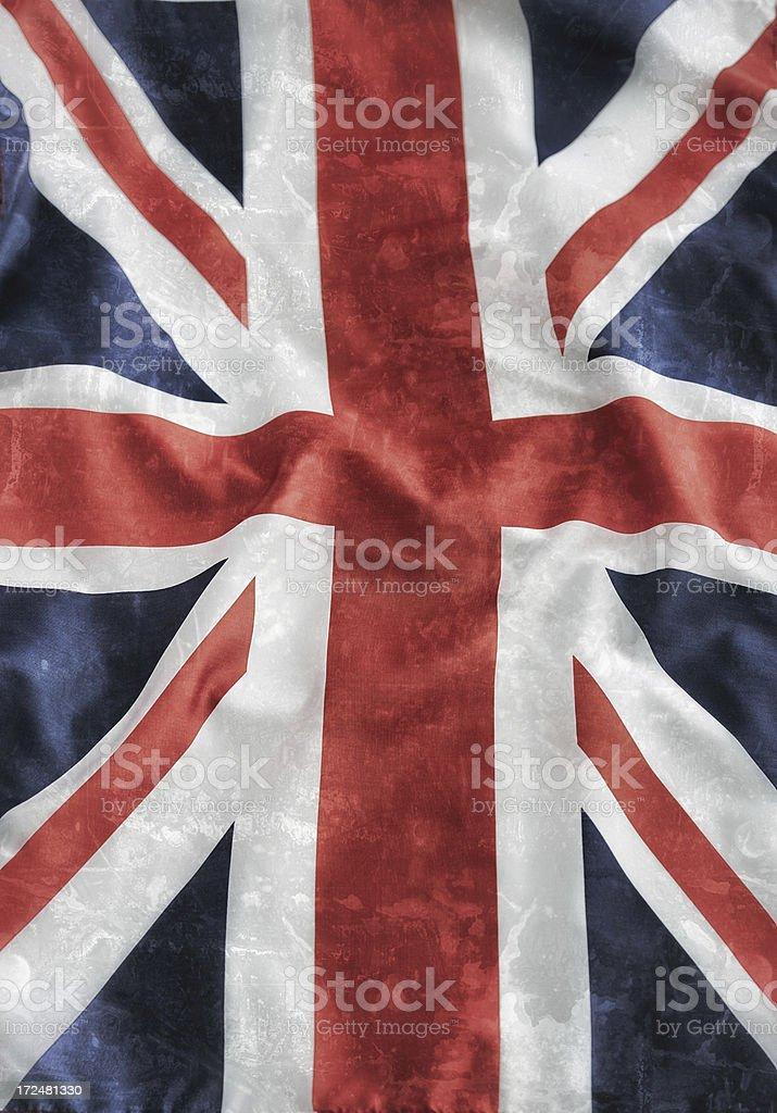 UK vintage flag royalty-free stock photo