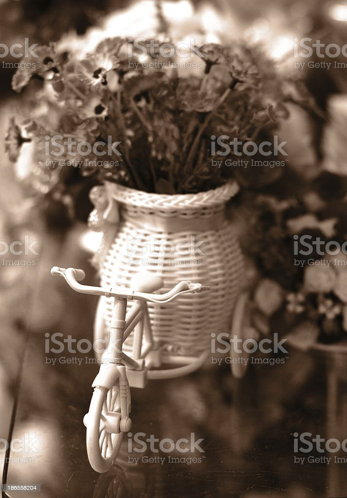 vintage flower royalty-free stock photo