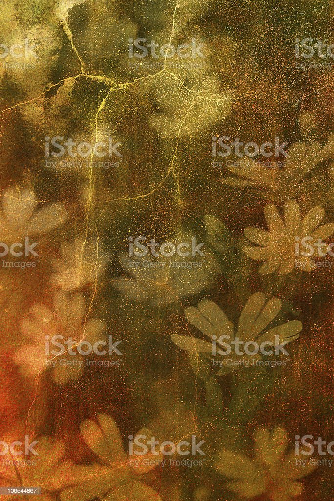 Vintage Flowers royalty-free stock photo