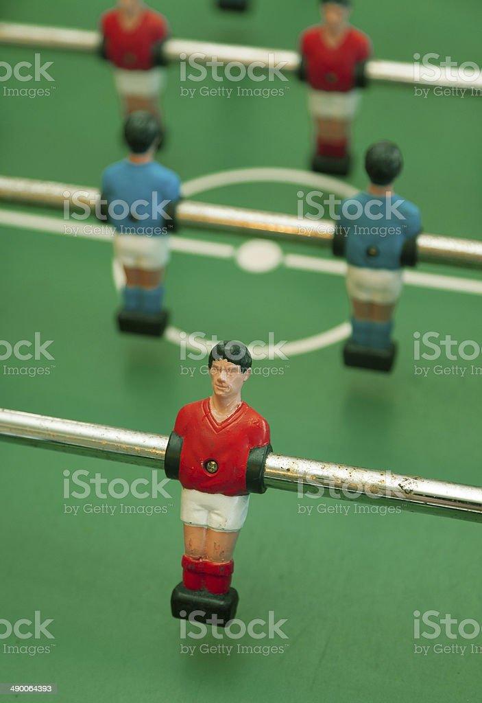 Vintage foosball game