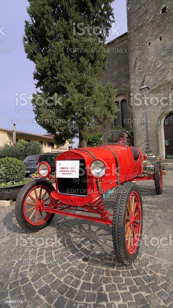 Padenghe sul Garda, Brescia, Italy - May 21, 2011: Vintage Ford car...
